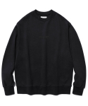 비바스튜디오(VIVASTUDIO) ORIGINAL SMALL LOGO CREWNECK JS [BLACK]