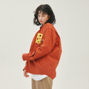 스테레오 바이널즈(STEREO VINYLS) [SS20 Stereo & Jerry] Cheese Pocket Shirts(Brown)