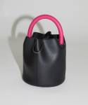 세이모 온도() 한나백 20° Hannah bag - Black with Magenta handle