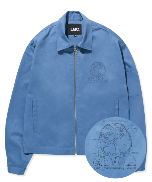 엘엠씨(LMC) LMC HBCT WORK JACKET vtg blue
