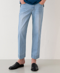 가먼트레이블(GARMENT LABLE) GL Stitch Jeans - Light Blue / Tapered
