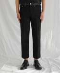 가먼트레이블(GARMENT LABLE) GL Stitch Jeans - Man in Black / Tapered