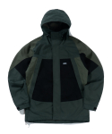 크리틱(CRITIC) 3 TONE HOODED PARKA(FOREST GREEN)_CTTZPJK02UG1