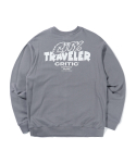 크리틱() CITY TRAVELER SWEATSHIRT(BLUE GRAY)_CTTZPCR04UB8