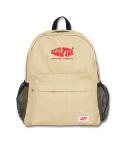 스컬프터() Oxford Backpack [BEIGE SQUARE]