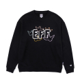 EFFXMG MULTI ANGEL CREWNECK BLACK