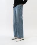 커렌트() WIDE LEG DENIM WOMENS [BLUE]