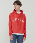 레이디 볼륨() Logo cutting hood_red