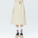 로맨틱크라운(ROMANTIC CROWN) GNAC EASY BANDING SKIRT_BEIGE