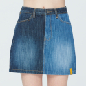 로맨틱크라운() TONE ON TONE POCKET SKIRT_BLUE