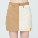 로맨틱크라운() TONE ON TONE POCKET SKIRT_BEIGE
