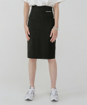 레이디 볼륨() Lady slit skirt_black