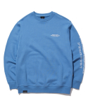 그루브라임(GROOVE RHYME) MATRIX LOCATION SWEAT SHIRTS (BLUE) [GMT522I13BL]