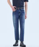 오너() 062 Tapered fit urban crew jeans Prussian blue