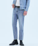 오너() 062 Tapered fit urban crew jeans Pale blue