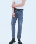 오너(OWNER) 062 Tapered fit urban crew jeans Fine blue