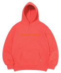 디스이즈네버댓(THISISNEVERTHAT) T-Logo Hooded Sweatshirt Coral (002)