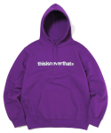 디스이즈네버댓(THISISNEVERTHAT) T-Logo Hooded Sweatshirt Purple (002)