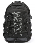 몬스터리퍼블릭(MONSTER REPUBLIC) MSRC SCOTCH LOGO BACKPACK / BLACK