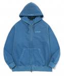 마크 곤잘레스(MARK GONZALES) M/G SIGN LOGO ZIP UP HOODIE PIGMENT BLUE