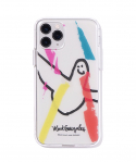 마크 곤잘레스(MARK GONZALES) M/G PAINTING PHONE CASE CLEAR WHITE