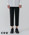 씨오큐() Banding crop slacks