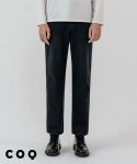 씨오큐() Straight crop denim pants_black