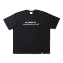 노매뉴얼(NOMANUAL) B.TM T-SHIRT - BLACK