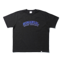 노매뉴얼(NOMANUAL) NM UNIV. T-SHIRT - BLACK