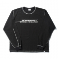 R.D LONG SLEEVE TEE - BLACK