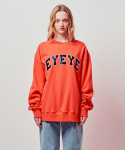 아이아이() EYEYE EMBELLISHED BASIC LOGO SWEATSHIRT_D/ORANGE (EETZ1WSR05W)