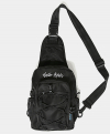MOVEMENT LOGO SLING BAG / BLACK