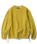 유니폼브릿지(UNIFORM BRIDGE) basic sweatshirts mustard