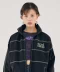 스컬프터(SCULPTOR) [SSS] TRIPLE STITCHED WINDBREAKER [BLACK]