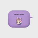 어프어프(EARPEARP) Shower cell-purple(Air pods pro case)