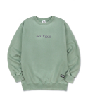 스컬프터(SCULPTOR) [Unisex]Snow Wash Sweatshirt [SAGE]