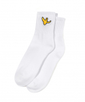 마크 곤잘레스(MARK GONZALES) M/G ANGEL MIDDLE SOCKS WHITE