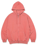 디스이즈네버댓(THISISNEVERTHAT) DSN-Logo ZIPUP Sweat Deep Coral