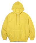 디스이즈네버댓(THISISNEVERTHAT) DSN-Logo ZIPUP Sweat Yellow
