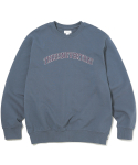 디스이즈네버댓(THISISNEVERTHAT) ARC-Logo Crewneck Dark Bluegrey