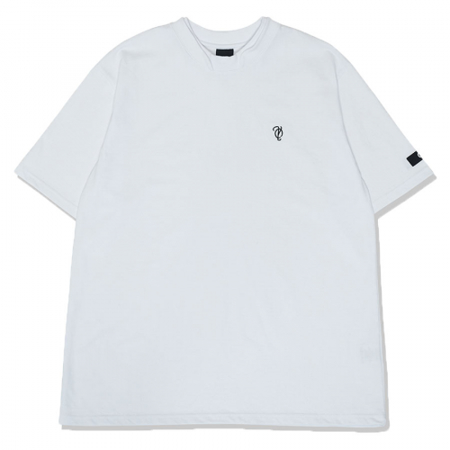 오와이(OY) DOUBLE COLLAR T-WHITE