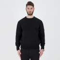 스트라이크() Cable Transform Knit Pullover (Black)