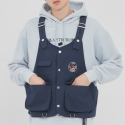 로맨틱크라운(ROMANTIC CROWN) THREE POCKET VEST_NAVY