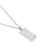 셉텐벌5() Square bar necklace