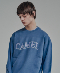카멜워크() Flag Logo Sweatshirts(I.Blue)