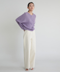 38컴온커먼() 20S WIDE COTTON PANTS (IVORY)