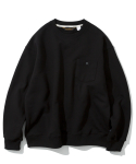 유니폼브릿지(UNIFORM BRIDGE) pocket sweat shirts black