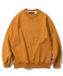 유니폼브릿지(UNIFORM BRIDGE) pocket sweat shirts orange