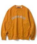 유니폼브릿지(UNIFORM BRIDGE) arch logo sweatshirts orange