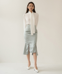 리올그(REORG) FOR SATIN MERMAID SKIRT MINT